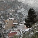 paesaggio natalizio a Taormina(rarità)